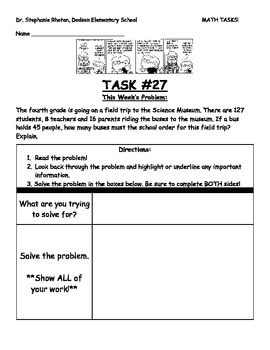 12 Fraction Math Tasks for Common Core