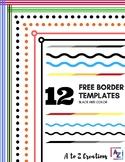 12 Free Borders