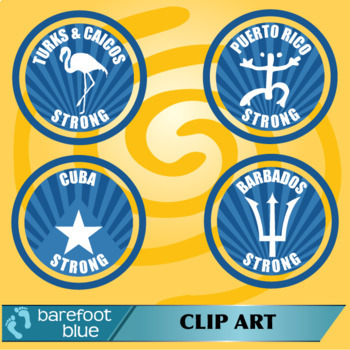 13 Freebies – City Strong, Island Strong logos/stamps – Hurricane support