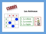 French Animal Activities; Do Now, Fast Finisher, Homework