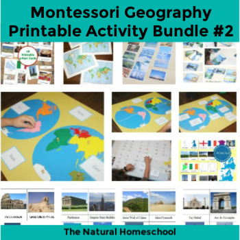 12 Fun Geography Activities for Kids ~ Bundle 2