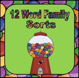 Word Family Sorts for Word Work