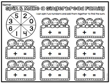 12 Gingerbread Math Stations {Common Core Aligned}