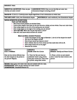 12 Go Math Kindergarten chapter 9 lessons and a chapter 9 review lesson