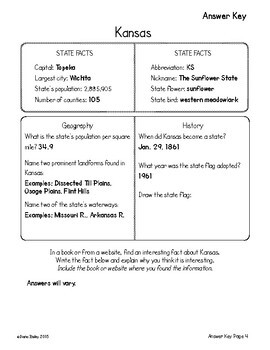 US Geography Midwestern States 12 Graphic Organizers Research Activities