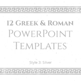 12 Greek and Roman PowerPoint Templates (SILVER)
