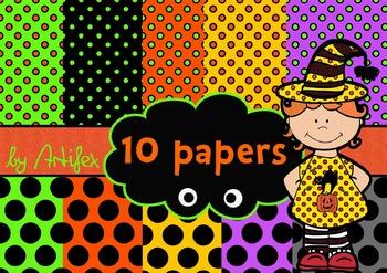 10 Halloween papers