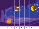 12 Halloween sequencing puzzles