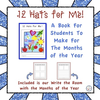 12 Hats for Me Book About the Months of the Year