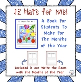 Months of the Year - 12 Hats for Me Book