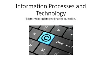 12 IPT Exam Preparation Reading the question
