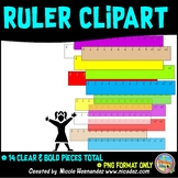 Ruler Clip Art for Teachers