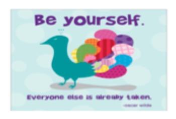 12 Insipirational quotes- including Oscar Wilde and Dr. Seuss
