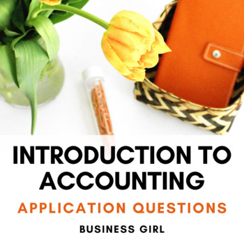 12 Intro to Accounting Application Questions