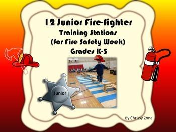 12 Junior Fire Fighter Training Stations