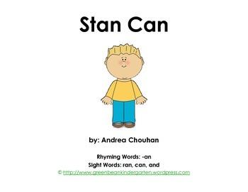 12 kindergarten sight word printable books from green bean kindergarten - Kindergarten Printable Books