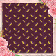 12 Lavender Digital Paper in Vintage Purple Color