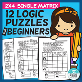 12 Logic Puzzles for Young Beginners