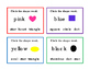 12 Math Shapes Preschool Kindergarten Task Cards Matching Words Colors 4pages