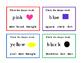 12 Math Shapes Preschool Kindergarten Task Cards Matching