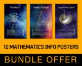 12 Mathematics Info Posters - Bundle Offer