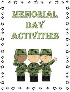 12+ Memorial Day Literacy Printables & Activities