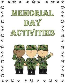 12+ Memorial Day Literacy Printables & Activities