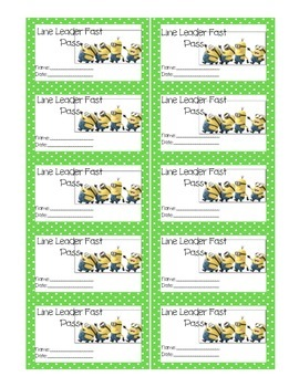 12 Minion Reward Coupons