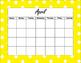 12 Month Calendar