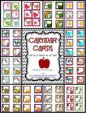 12 Month Calendar Cards