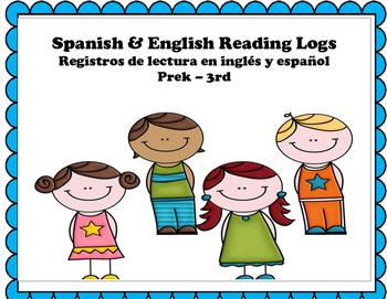 Reading Logs Bilingual / Registros de lectura {NO PREP}