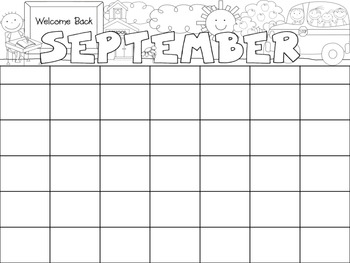 12 Monthly Calendars