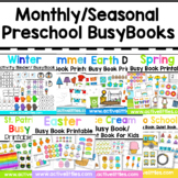 12 Monthly Seasonal Busy Books + 1 more (13) (BUNDLE)