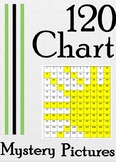 12 Months of 120 Number Chart Mystery Pictures: Color by Number