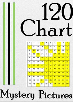 120 Chart Color By Number Mystery Pictures