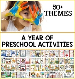 A Year of of Preschool Activities (Mega Bundle)