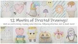 12 Months of Directed Drawings!