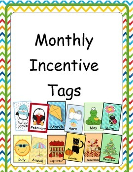12 Months of Incentive Tags