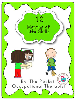 12 Months of Life Skills with Calendars