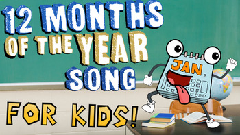 12 Months of the Year Song