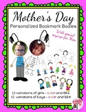 12 Mother's Day Personalized Bookmarks