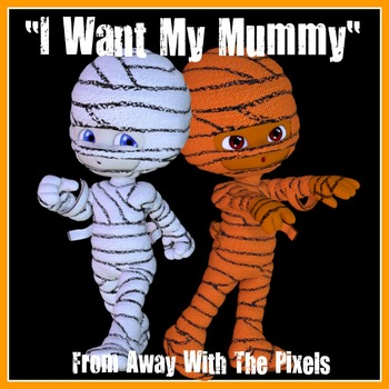 12 Mummy Clip Art for Halloween and Other Spooky Occasions