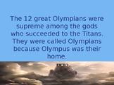 12 Mythological Gods and Goddesses Power Point