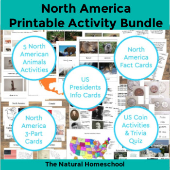 12 North American Countries Activities