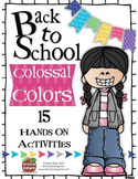 Back to School Colossal Colors