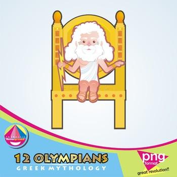 12 Olympians - Greek Gods and Mythology