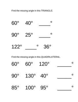 12 Original Math GEOMETRY worksheets