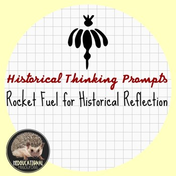 12 Pack of Historical Thinking Prompts:  Rocket Fuel For Historical Reflection
