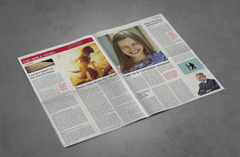 12 Page Broadsheet Newspaper Template for Adobe InDesign