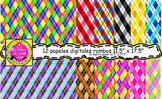 12 Papeles digitales ROMBOS 11.5 x 16.5